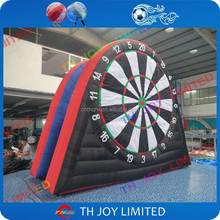 giant inflatable soccer darts,giant outdoor inflatable foot darts for sale