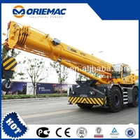 PERFECT PRODUCT CHINESE BRAND XCMG 60T ROUGH TERRAIN CRANE RT60 FOR HOT SELL WITH BEST PRICE