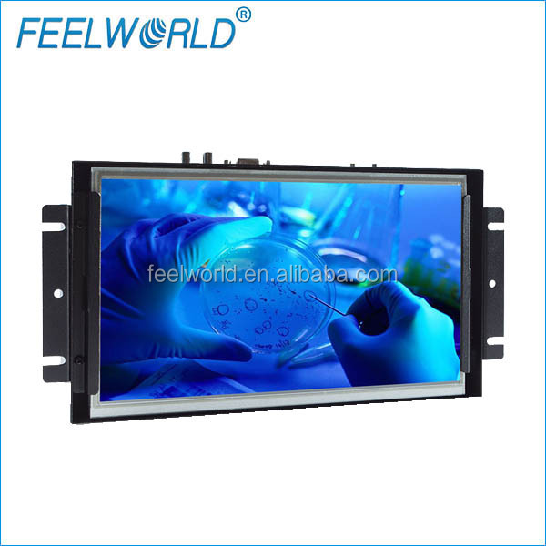 "Feelworld hdmi vga input <strong>10</strong>.1"" touch screen para monitor for ATM and Instrumentation Display Systems."