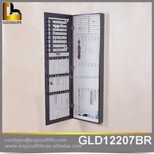 wholesales wall mount jewelry armoire with full length mirror