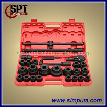 "26pcs 3/4"" and 1"" Socket set / Metric Size / (SPT-1018A)"