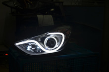 For Hyundai Elantra light bar auto light 2011/2012/2013 modified/tuning/refit