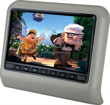 9 inch HD screen headrest car dvd player with wireless game Model XD9901