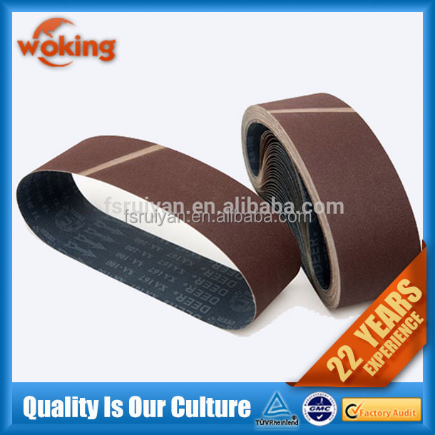 high quality abrasive belt grinder stainless steel and wood