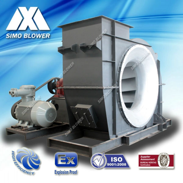 High Volume Centrifugal Blowers : Stainless steel high volume abrasion proof steam power
