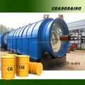 Pyrolysis waste tyre to crude oil machine with large oil output