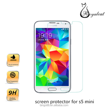 Ultra Thin 9H 0.26MM Tempered glass screen protector for s5 mini