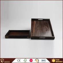 Bottom price durable paulownia wood tray stand