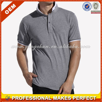 Plain polo shirt men 2014 (YCT-A0168)