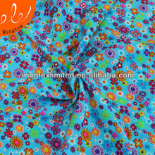 flower print 190g 82% polyamide 18% elastane swimsuit fabric