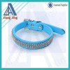 High quality 3 rows or 5 rows diamond studded dog collar, diamond dog collar