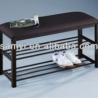 Metal Shoe Bench