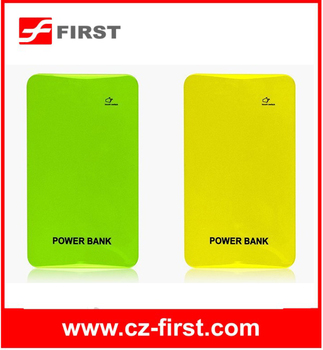 Portable Slim Lithium Polymer Power Bank 10000mah For Samsung Smartphone
