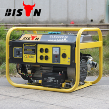 BISON China Zhejinag 12V DC Portable 3000watt Petrol Generator with Strong Square Frame