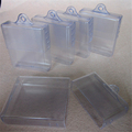 rectangular clear telescopic plastic box pak for cutting tools