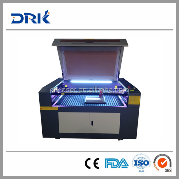 6090 Small CO2 Laser Engraver/Laser Cutter/Laser Engraving and Cutting Machine DRK6090 Hot Sale Low Price