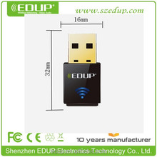 300Mbps Cool-Black High Speed USB Wireless Adapter with 6dBi external antenna