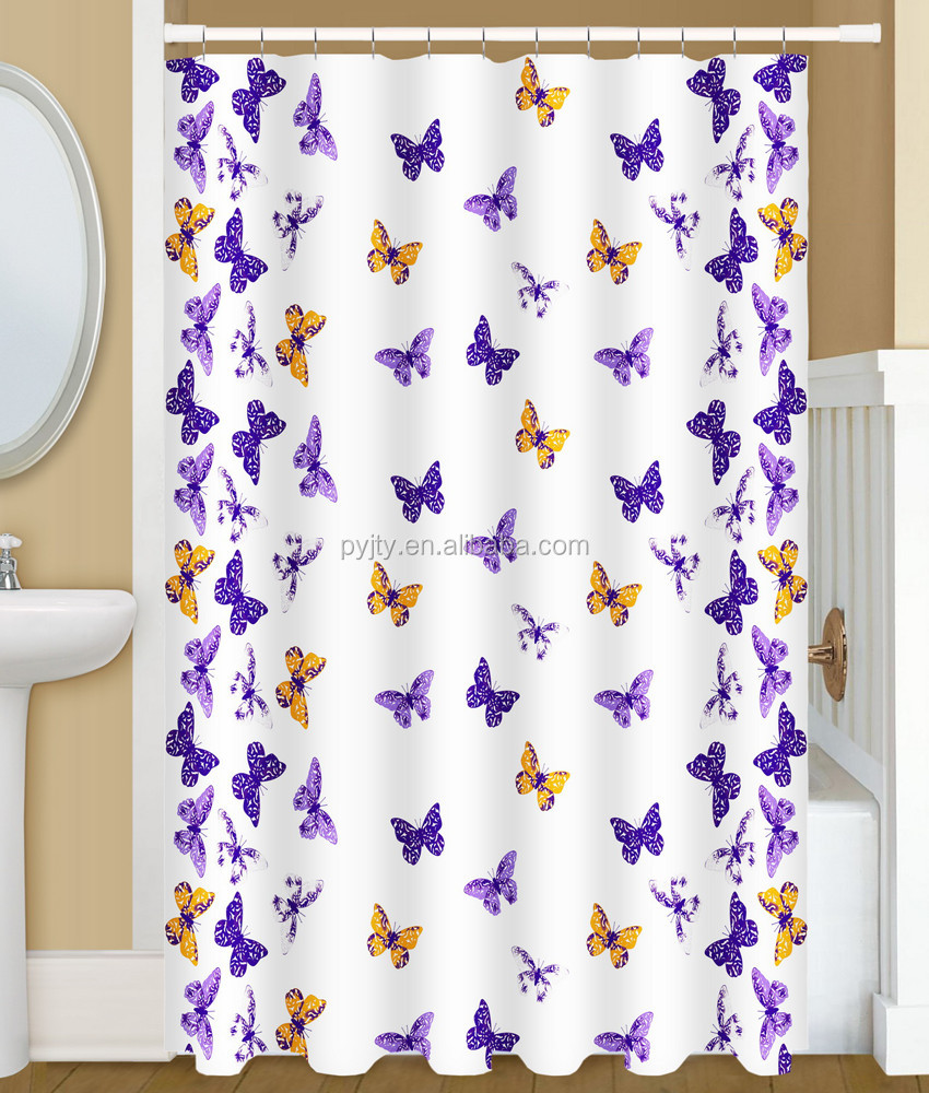 Home accessories bathroom set wholesale shower curtain for baby