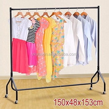 Portable Heavy Duty Rail 6ft Clothes Garment Dress Hanging Display Stand Rack