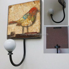ELEGANT BIRD DECORATIVE WALL HOOKS