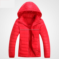 New Designer Fashion Women Super Light colorful Down Jacket