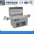 Three-temperature zones laboratory vacuum tube furnace with 1200C