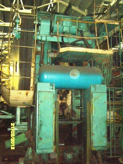 Hot Forging Mechanical Press, model KB 8042, new in 1991