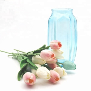 Decorative Modern Home Decor Clear Glass Vase For Flowers