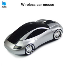 2.4g wireless car mouse drivers 3d optical usb wireless mouse with FCC CE ROHS