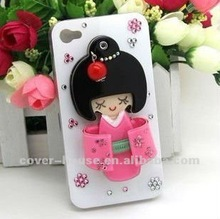 High-Quality Fashion 3D Mirror Bling Hard Skin Cover Case For iPhone 4 4S