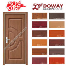 HIGH QUALITY LOW PRICE MORE NEW DESIGNs INTERIOR WOODEN /MDF (glass) PVC DOOR