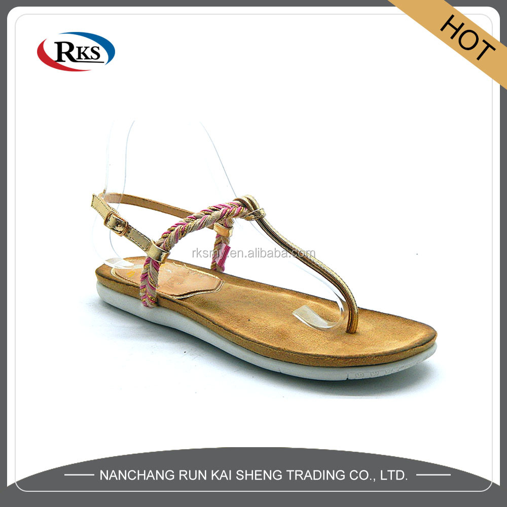 new design fancy ladies chappal for top sale