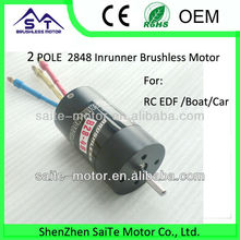 ST2848/2P rc brushless motor speed controller esc with servo motor rc for brushless motor rc car