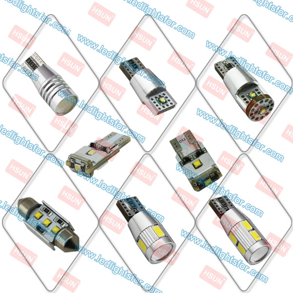 full range of car led bulb from HSUN Lighting company