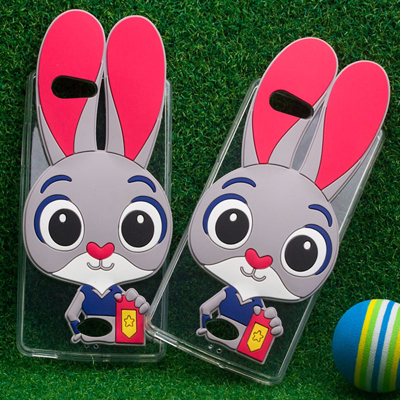 Wholesale Price anime 3D cartoon character rabbit phone case cell phone 3d cases for OPPO A31T