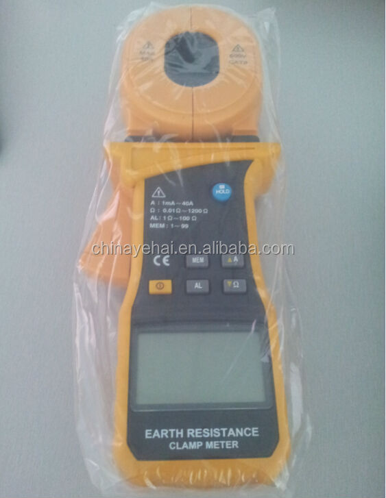earth resistance test clamp meter