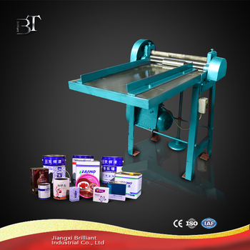 Bending tinplate machine