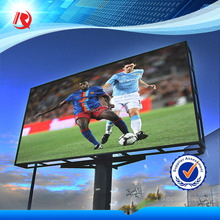 Alibaba Express Outdoor Iron Cabinet Full Color P10 LED Display fixed installation outdoor advertising billboard