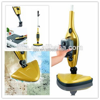 Steam Floor Mop Cleaner Steamer Swivel Head Hard Wood Deep Clean Tile Carpet