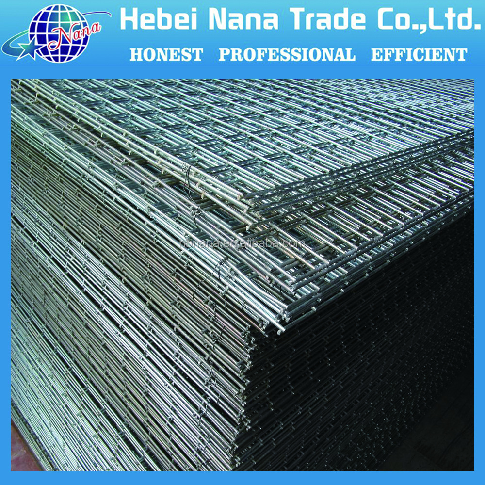 2016 Hot selling cheap solid weight of concrete reinforce wire mesh welded mesh
