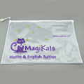 a4 plastic ziplock document bag plastic document case