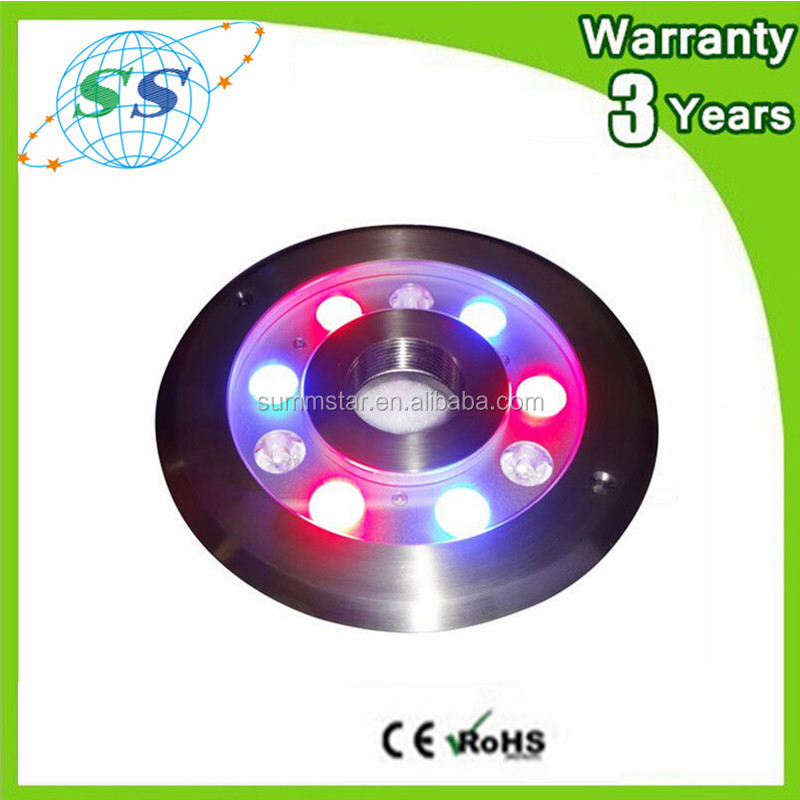 Best price led lighting 12v ip68 underwater led lights / led pool light