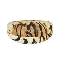 Tiger stripes handmade hard specatcle case new products 2016 hot sell