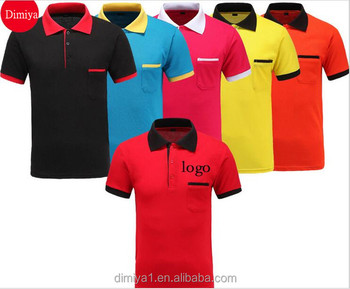 Direct Factory Customize pique polo shirt with logo embroidery