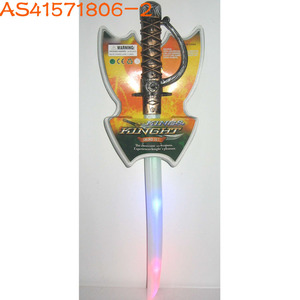 Hot item fancy plastic colorful light up swords toys for sale AS41571806-2