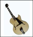 16 Inch F Hole Handmade Archtop Jazz Guitar 2017Hot Sale