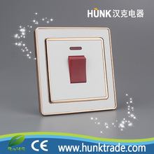 Top quality CE SASO approval Attached indicator light 100000 Times of 20A Water heater electric switch
