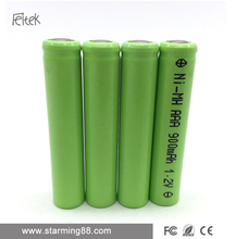 600ma aa rechargeable ni-mh battery batcl50l 1.2v for Electric cigar toys
