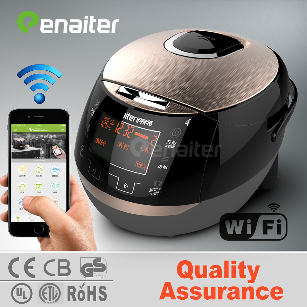 Enaiter Hight End WiFi Control Function 3D Keep Warm Electric Multi Rice Cooker