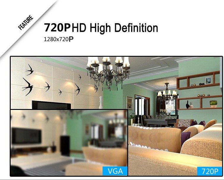 4CH 720P Onvif WIFI NVR Kit 4PCS 1.0MP Wireless Bullet IR IP Cameras CCTV System